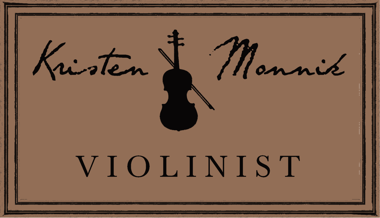 Kristen Monnik - Classical and Electric Violinist, New Orleans