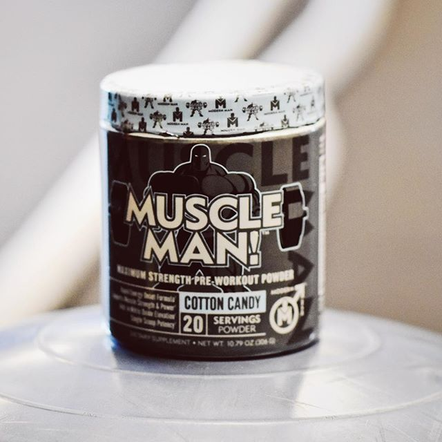 LET THE GYM BE YOUR STRESS RELIEVER, NOT FOOD. HELP YOUR BODY MEET ITS FULL POTENTIAL WITH MUSCLE MAN! PRE-WORKOU!!! #gymmotivation #modernmanstateofmind #bemodernman