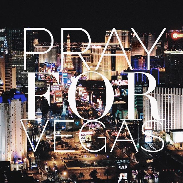 Praying for the victims and families affected by this tragedy in Las Vegas 💕