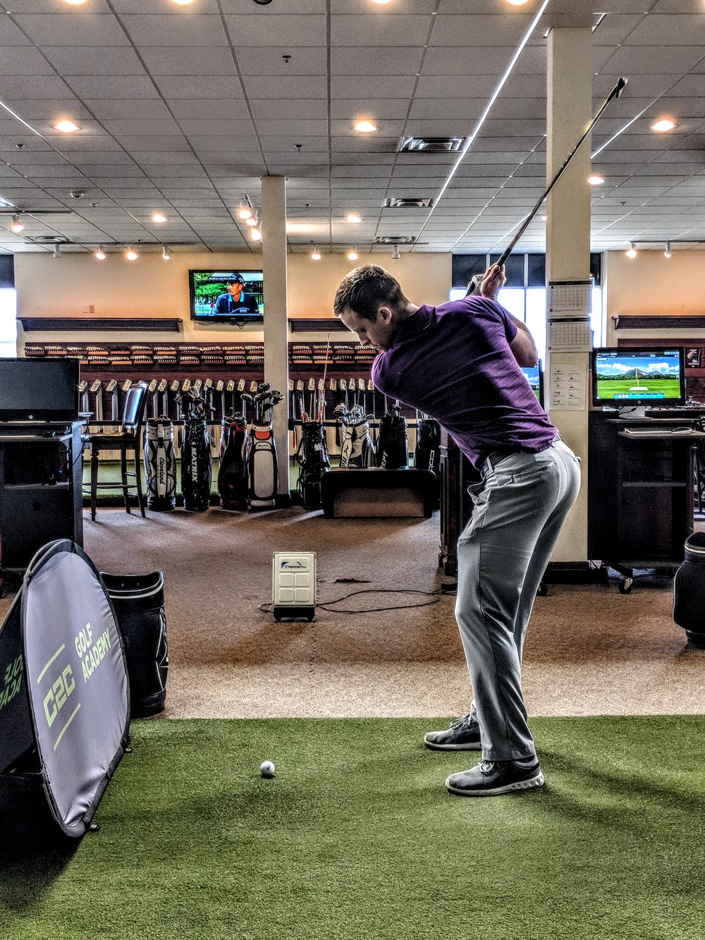 C2C Membership - We Design personal programs to Improve your game and track the resultsFree evaluation$100 initiation Fee$99 per month
