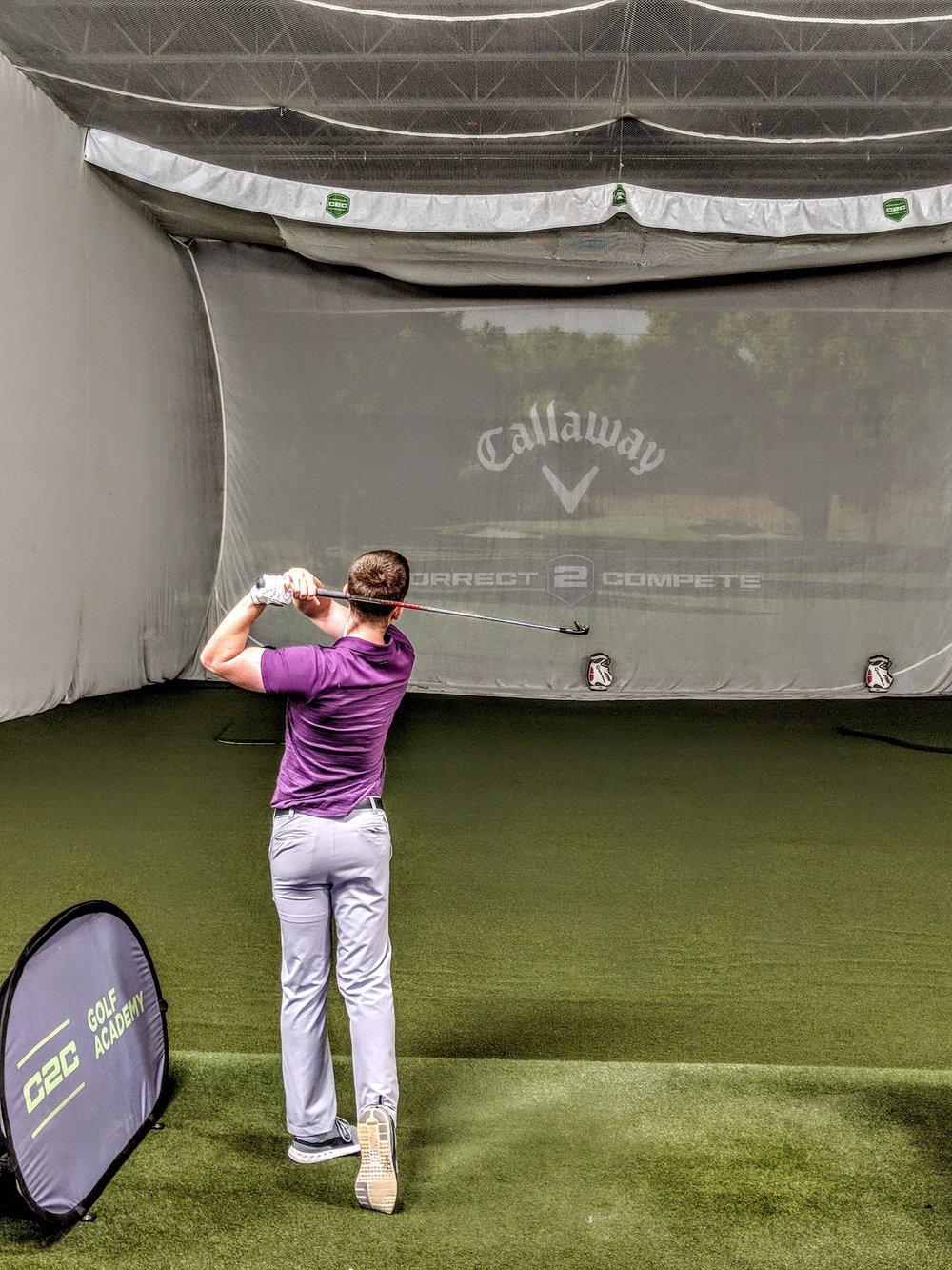 Golf Evaluation  - 1.  Golf Specific EvaluationA fun and challenging series of movements and drills designed to show strengths and expose weaknesses.2.  Let Us Design Your Personalized ProgramA C2C coach will design a program specific to you based upon the results of your evaluation and personal goals.3.  Follow Your ProgramFollow your program consistently with guidance by a C2C coach.4.  Enjoy Your ResultsSee the hard work pay off when it matters most!
