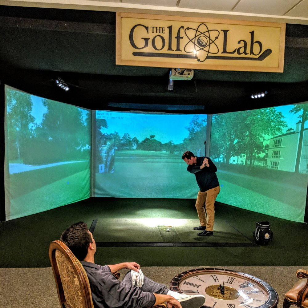 Golf Simulators - Play PGA Tour Courses all year.