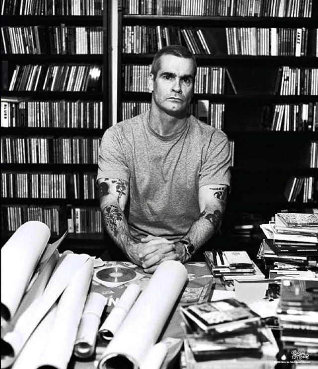 """Such a powerful shot of a punk rock legend, lead vocalist of Black Flag, Henry Rollins. Photographed by another beast, @estevanoriol , for the new Vans campaign, """"ICONoclasts"""". — #estevanoriol #henryrollins #blackflag #iconoclasts #vans"""