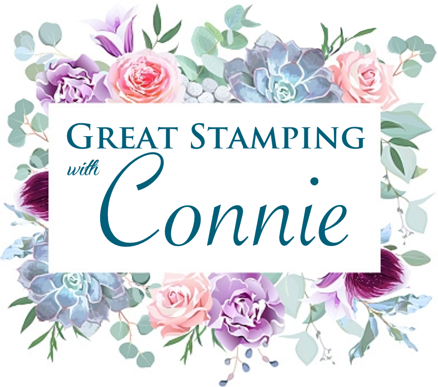 Great Stamping with Connie