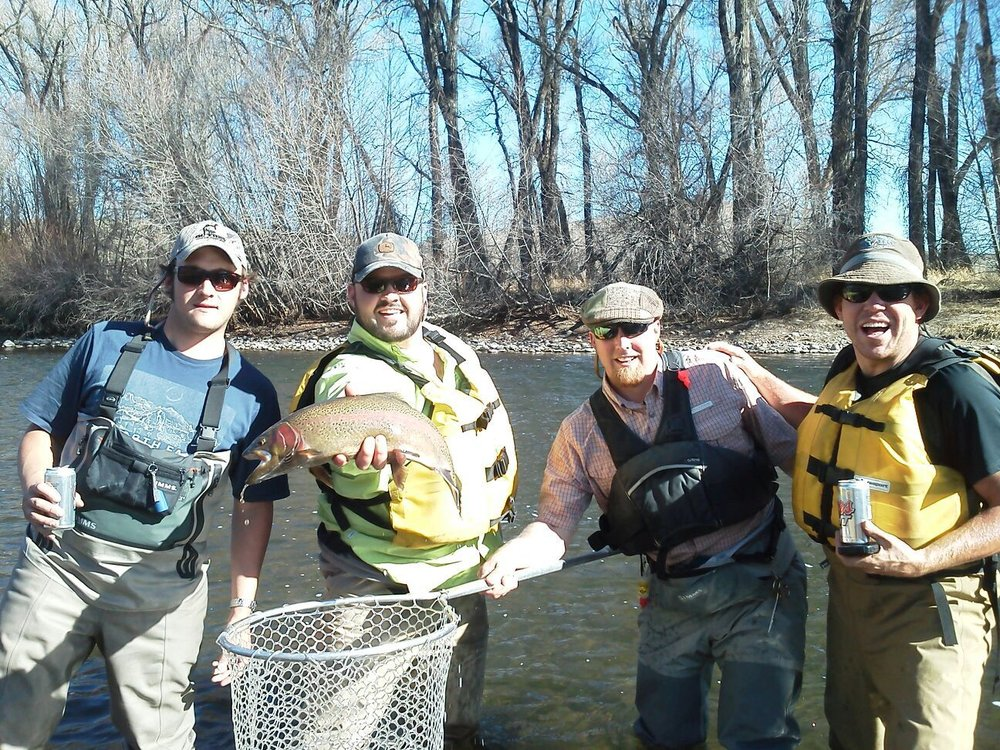 Group Fly Fishing Trips