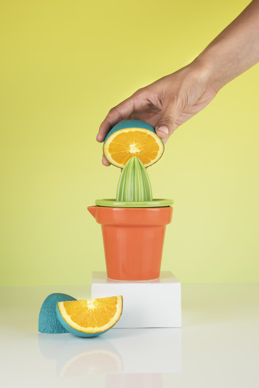 """You could search """"aloe-vera"""" but never find another juicer this succulent. -"""