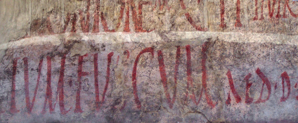 Inscriptions électorales à Pompei