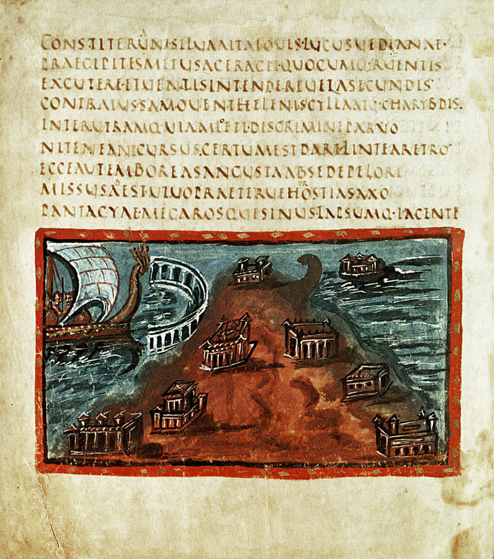 Codex Vergilius conservé au Vatican, Ve siècle ap.JC