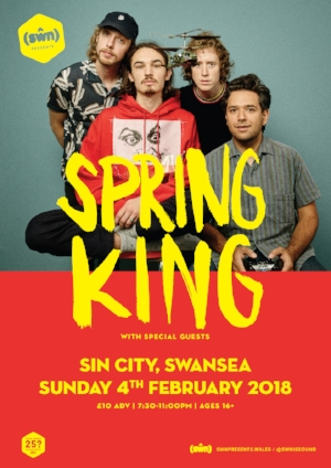 Bandicoot support Spring Kings (presented by Swn) in Sin City 04/02/18