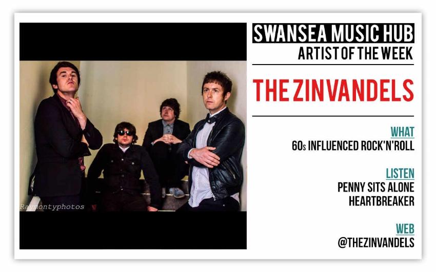 Artist Of The Week: The Zinvandels — Swansea Music Hub