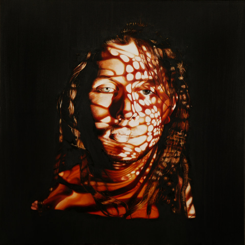 'Monarch', 60cm x60cm, Oil on Canvas, 2003