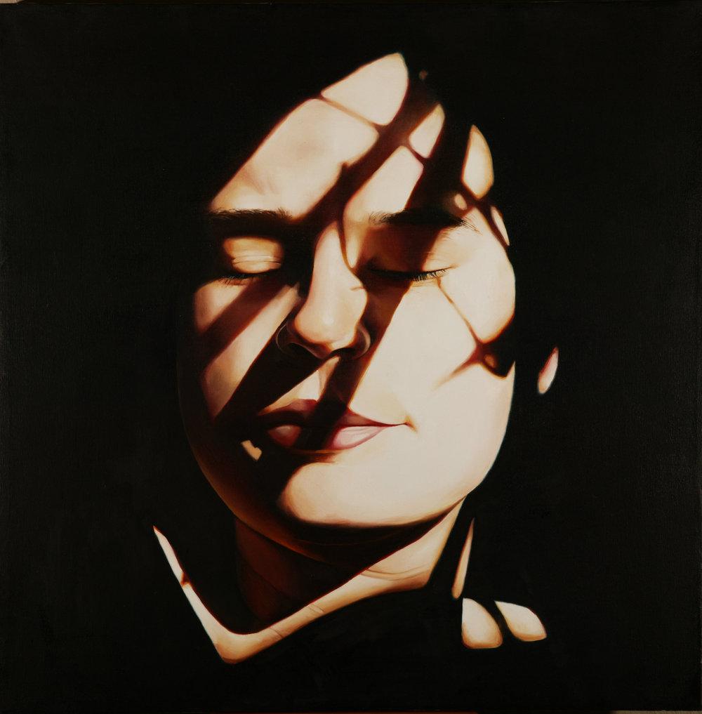 Black Mamba, 73cm x73cm, Oil on Canvas, 1998.jpg