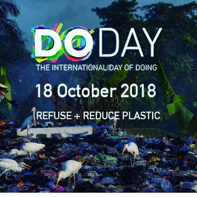 Don't miss out and join in a location close to you or even host a do day! It will be a day full with inspiration, creativity and wonderful people to #rethinkplastic!! @thedoschoolberlin #breakfreefromplastic #refusesingleuse #refuseplastic #mappingplastics #creativepeople #socialdesign #designinspiration #doday #doday18 #togetherwecanchangetheworld #beatplasticpollution #youngchamps