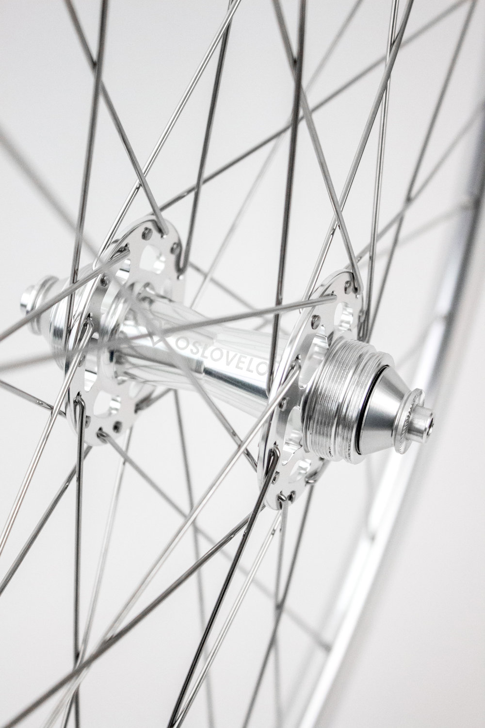 OSLOVELOS OWN HANDBUILDT WHEELSET
