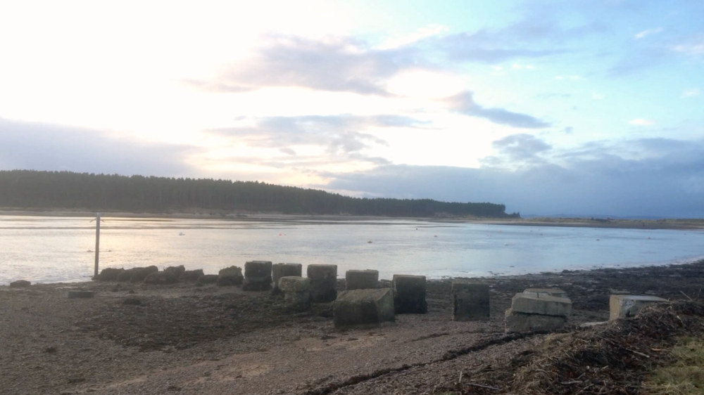 A Home from home - Luke Chitty, Findhorn Village, Moray