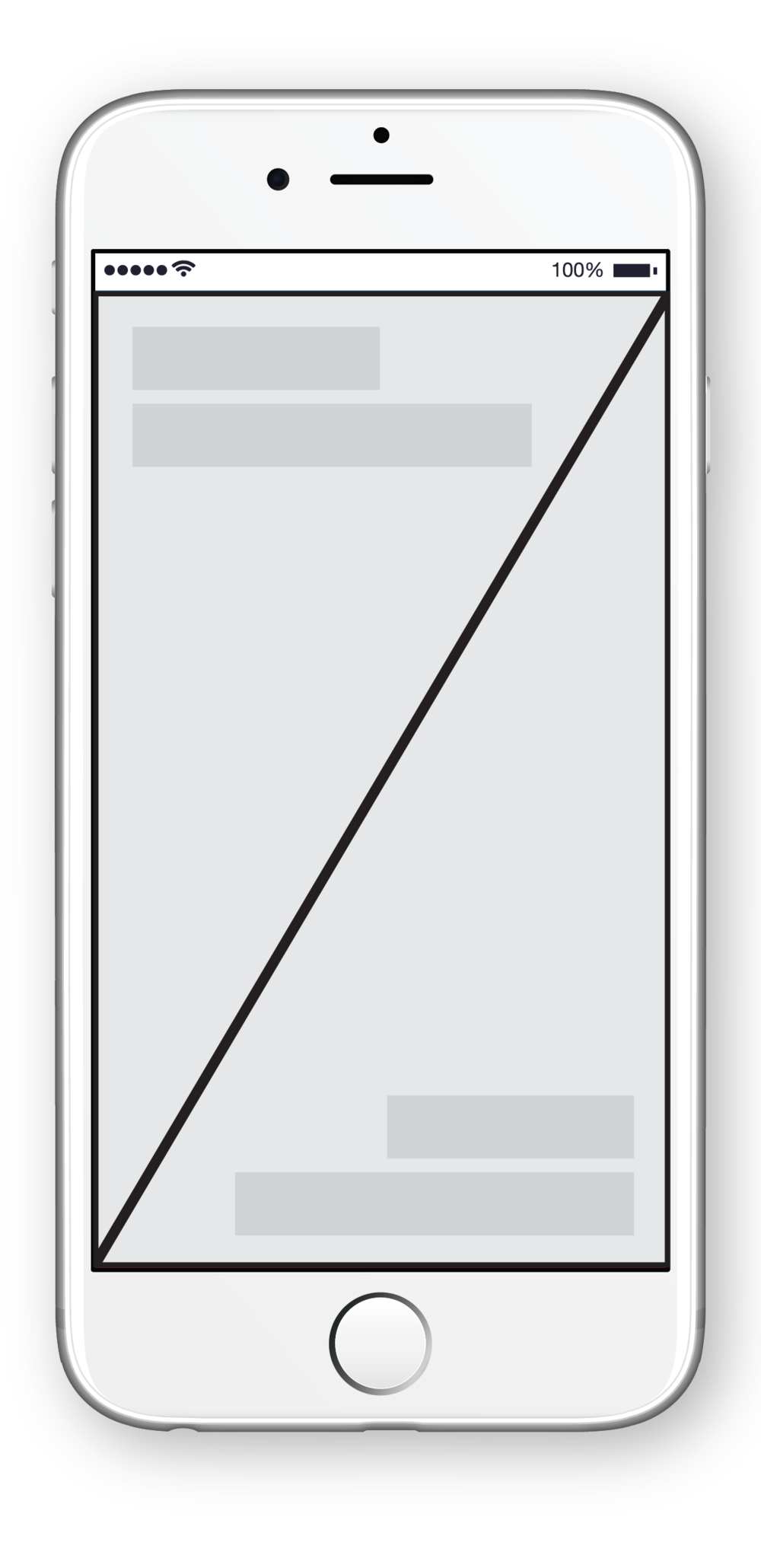 Wireframe 01: Home Screen