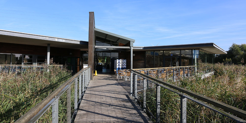 Newport Wetlands visitor centre (Chris Harris)