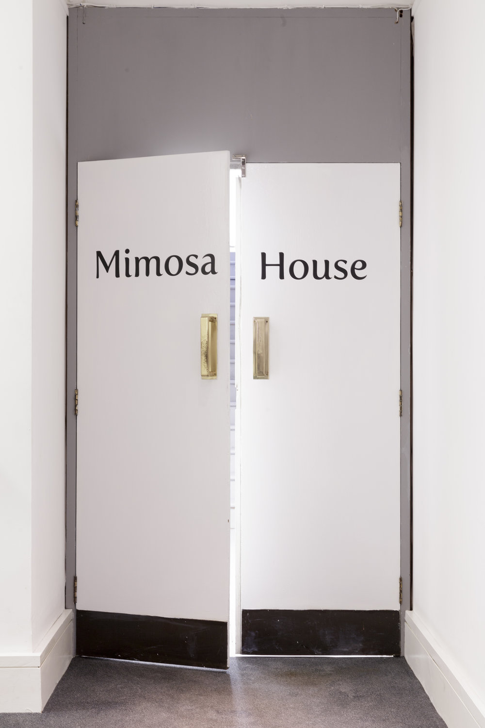 Mimosa House interior entrance, Photo: Tim Bowditch.