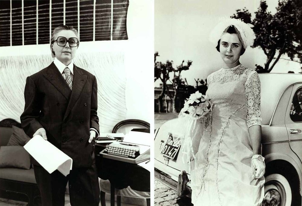 Tomaso Binga,  Oggi Spose , 1977. Courtesy Archivio Binga – Menna © Archivio Binga Menna