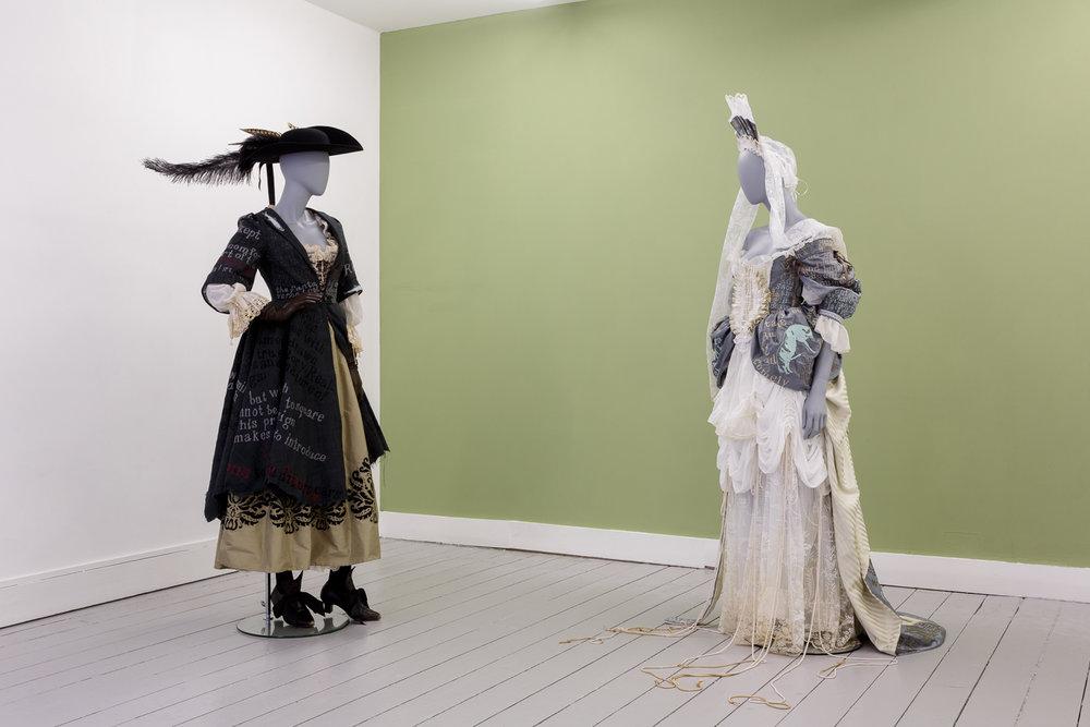Georgia Horgan, Costumes for 'The Whore's Rhetorick', 2018-9. Courtesy of the artist. Photo: Tim Bowditch