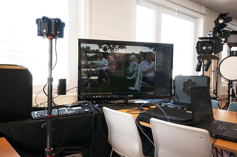Også muligheter for LIve-streaming.