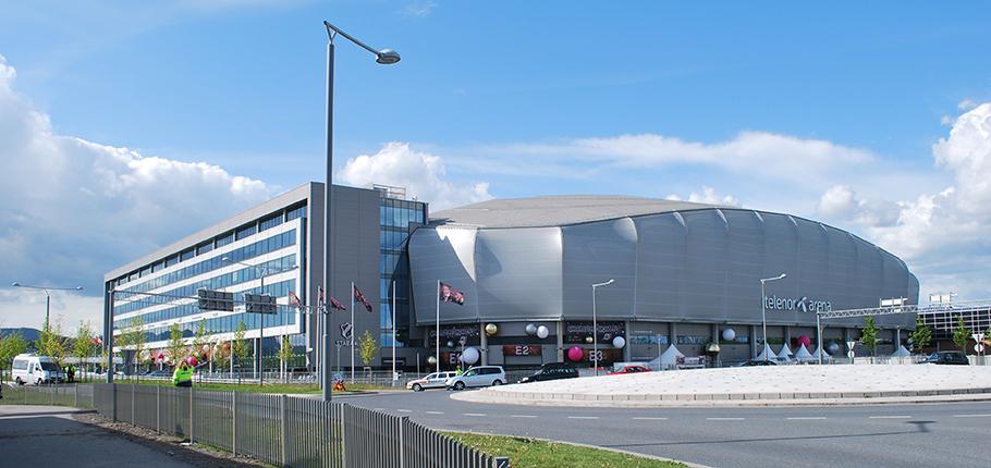 Telenor Arena på Fornebu huser LLB-messen for tredje gang.