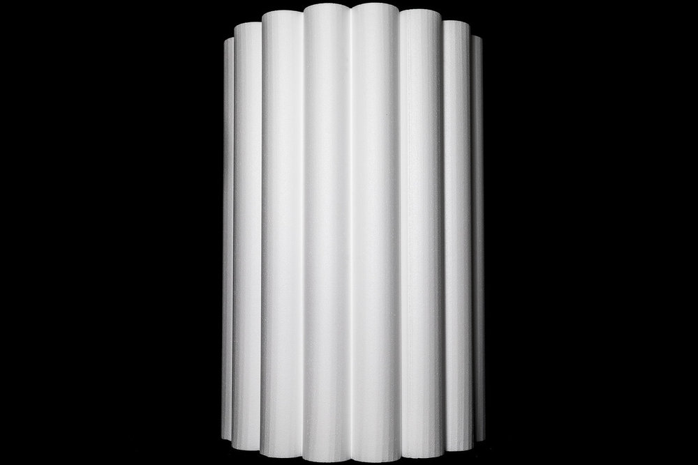 "31 ¾"" Scalloped Half Column"