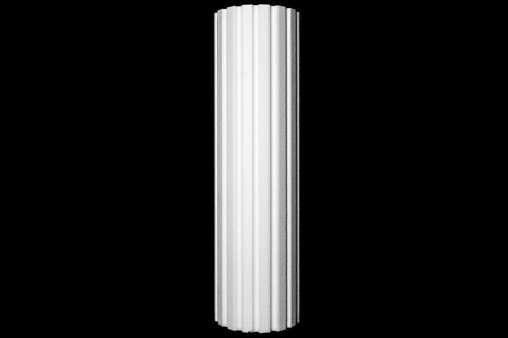 "13 ½"" Fluted Half Column"