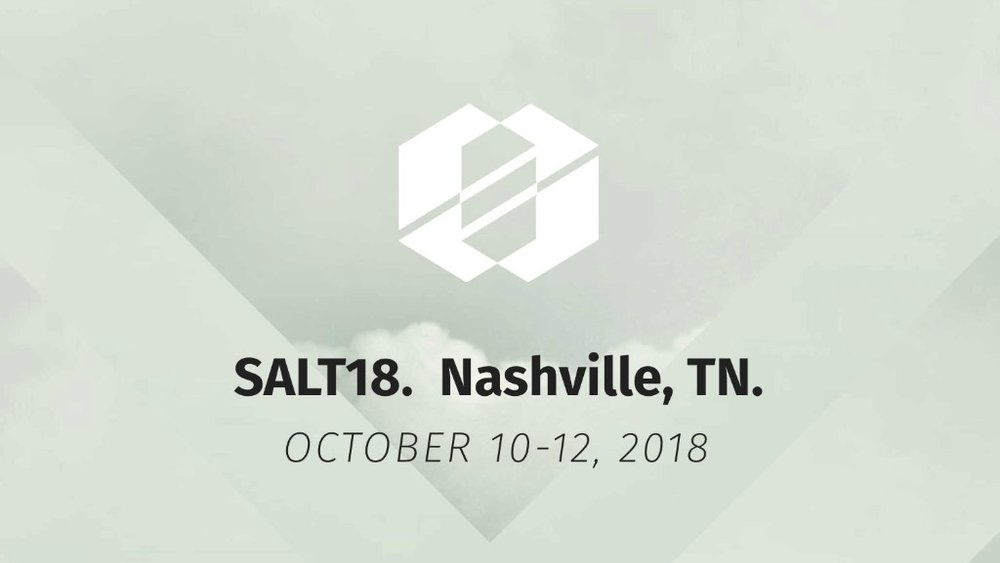 Cofounders Ryan and Kelly Portnoy will be teaching a workshop at #SALT18 in Nashville, October 10-12, on Missional Creativity and are hoping to recruit more Ambassadors.