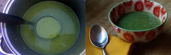 Deliciously spicy Nettle Soup