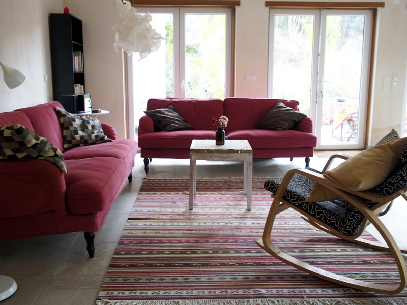 Communal guest living area