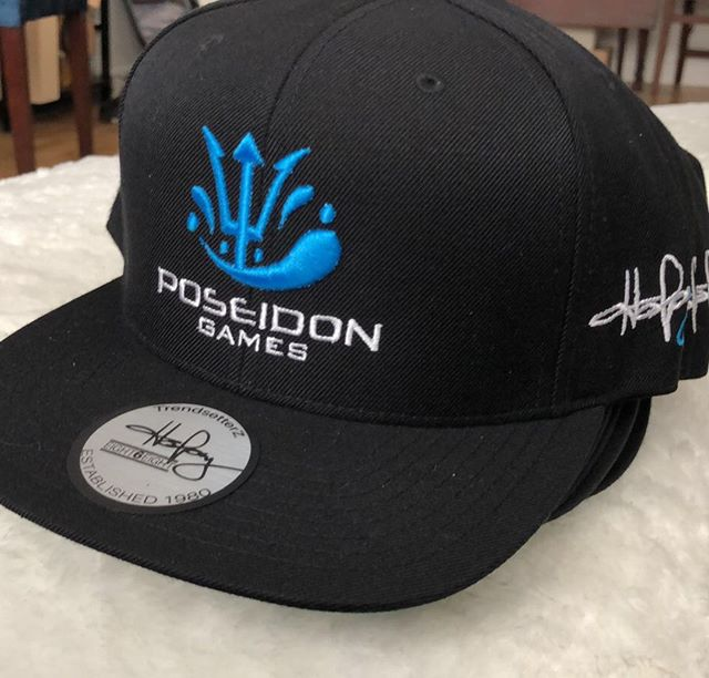 Poseidon Games hat anyone? #poseidongames #hats #merch