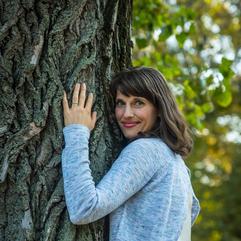 Yes, I am officially a tree hugger! HAHA! (But seriously)