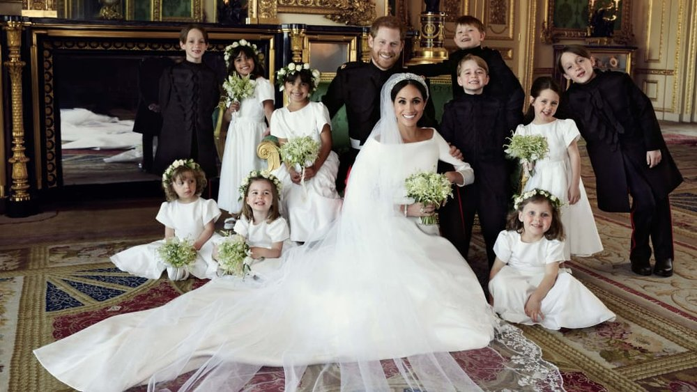 8. The Bridal Party - One mega-cute royal wedding tradition is giving young children a large role in the ceremony. Harry and Meghan had 10 boys and girls, all aged 7 or younger, in their wedding party. Nieces, nephews, godchildren, cousins, friends' kids, or your own kids can be assigned as flower girls, young bridesmaids, ring bearers, and pageboys to accompany you down the aisle. Although little ones can be unpredictable at times, involving them in your big event could turn out to be one of the sweetest and most cherished moments you have.