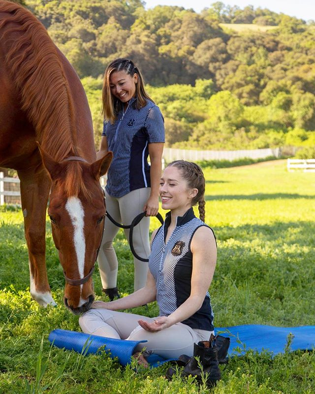 Hay there! Got a minute?! Stop what you're doing and picture your favorite part of spending time with your horse/ horses 💕🐴 Think of that emotion as a spark ⚡️ and let it grow bigger inside you 🔥❤️... Guess what?! You can use that very idea as a centering thought for meditation! 🧘🏼‍♀️ Once you've allowed that feeling to build inside, think of one action to spread those good vibes with someone else today. Who can you share this beautiful energy with? We'd love to hear your ideas in the comments below! 👇#spreadgoodvibes #horseylove #meditationforbeginners