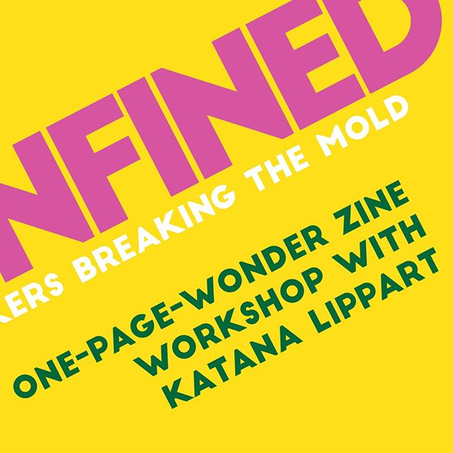 Discover the magic in creating your own one-page wonder zine with artist, Katana Lippart @katanalipp_art. One paper, transformed into a book with eight pages, provides limitless possibilities! Join us to create your own zine; each participant will leave with multiple copies. . Saturday, July 21 from 1-3pm. $40. . Sign up now. Link in our bio. . . . . #workshops #unconfined #printmaking #acreativedc #zine