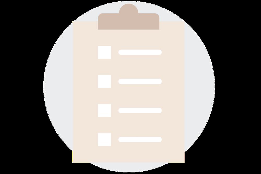 Square Secrets workbook clipboard icon