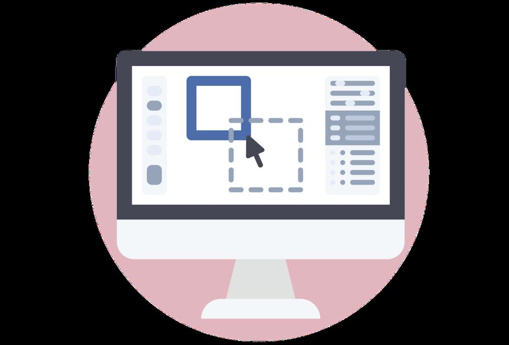 Square Secrets example sites desktop icons