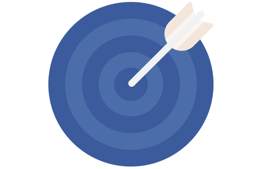 Square Secrets ideal client training dartboard icon