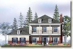 - The Carriage Homes will be created in a variety of complementary traditional home styles to reflect the individuality of the homeowner and will be appointed with a wide array of plan arrangements, optional features, energy-conserving and low-maintenance construction.