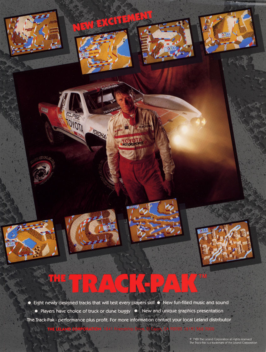Ironman Ivan Stewart's Super Off Road Track Pak