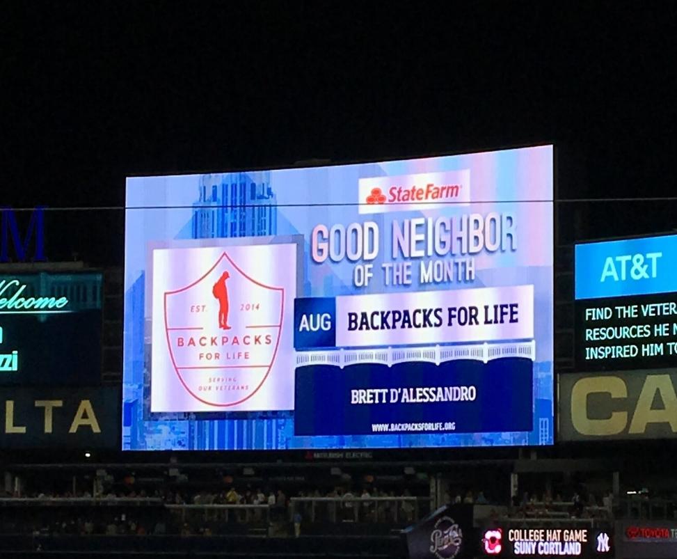 Backpacks For Life x New York Yankees