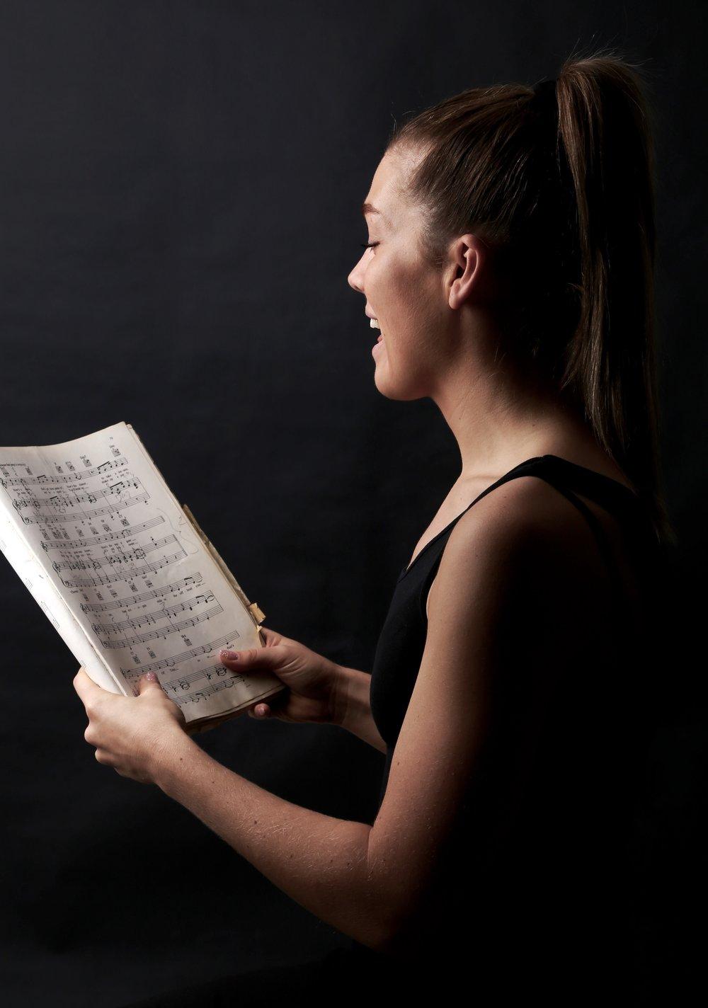 Singing -