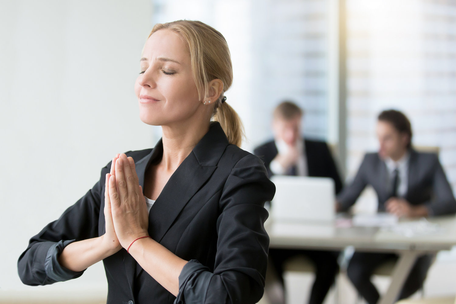 Using the Breath to Decrease Stress and Increase Productivity in the Corporate World