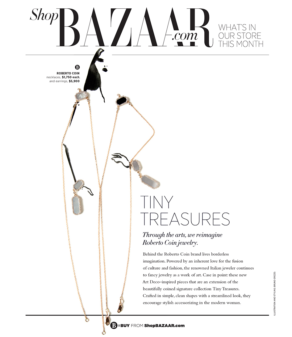 Harpers Bazaar Illustration