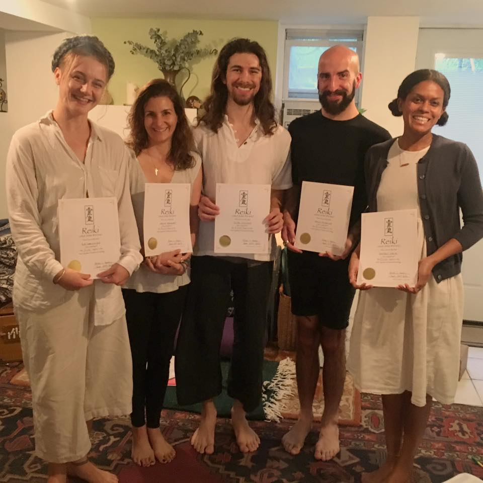 Reiki Level 1 // September 24th, 2017