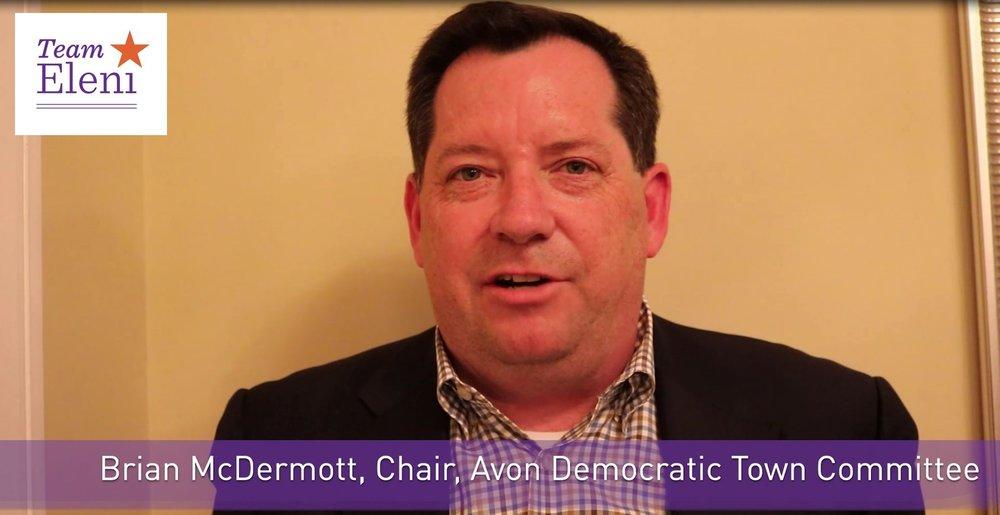 Avon Democratic Town Committee Endorses Eleni Kavros DeGraw -