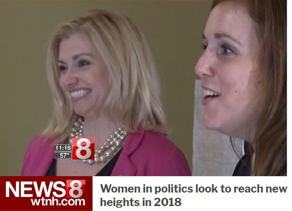 WTNH News 8: Women in Politics Features Eleni Kavros DeGraw -