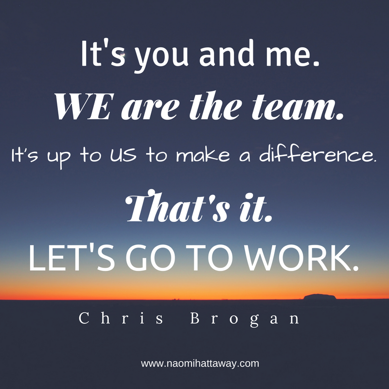 Let's Go To Work Chris Brogan