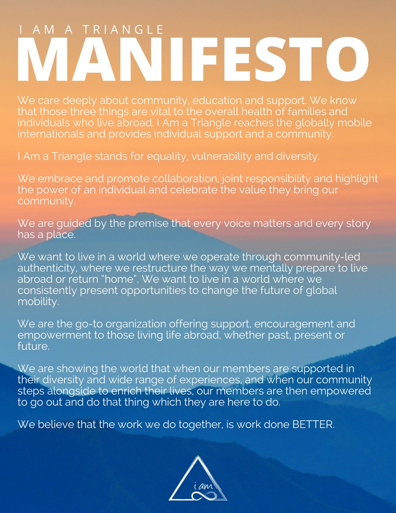Manifesto - I Am a Triangle